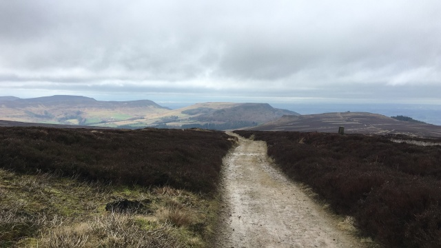 Homeward leg... Cleveland Hills in sight (Tuesday 12/02/2019)